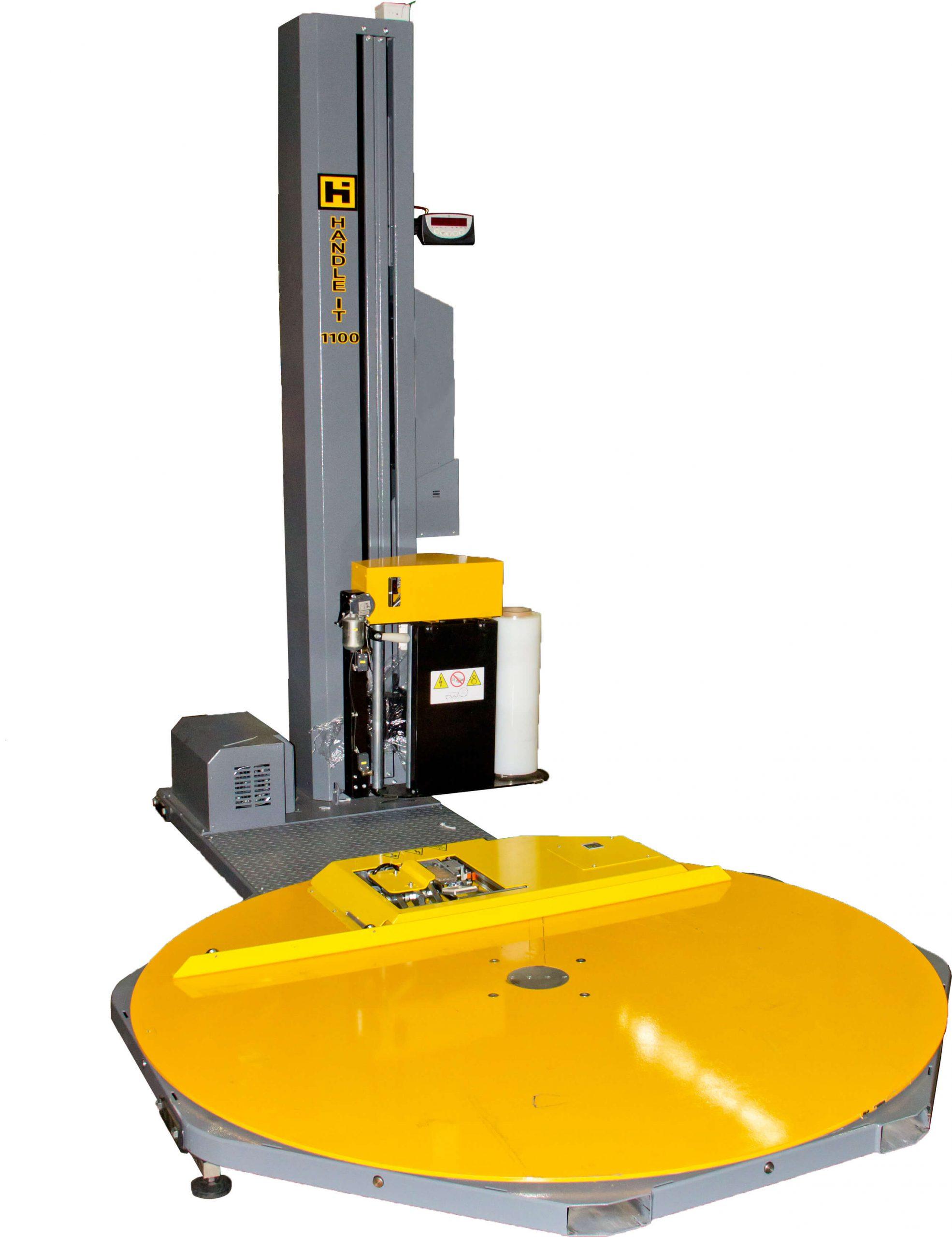 Handle-It model SWM-SWM-SA-1100AA-C pallet wrapping machine