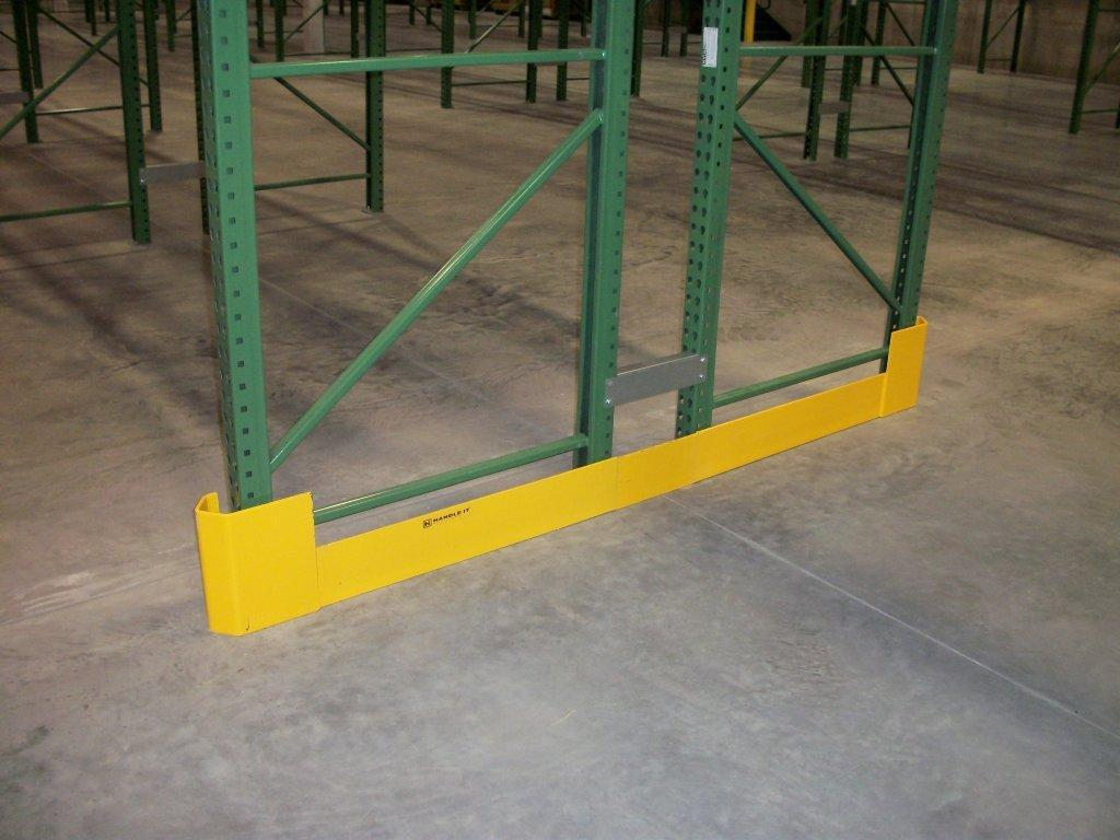 Space-Saving End of Aisle Rack Protectors