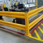 Safety Rails for Shipping and Receiving Areas
