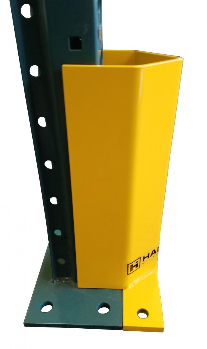 Universal Rack Upright Guard side view