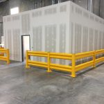 Guard Rail for Inplant Warehouse Offices
