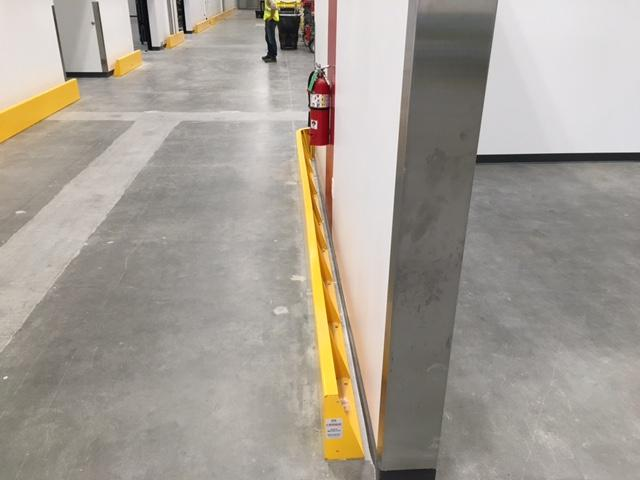 "2"" Tall Floor-Mounted Barriers"