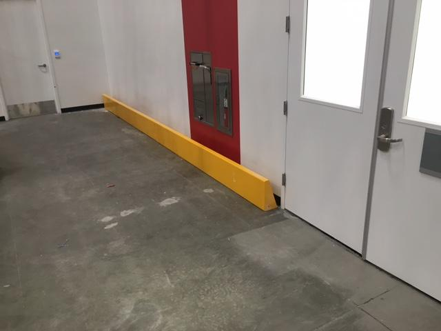 "12"" Tall Floor-Mounted Barriers"
