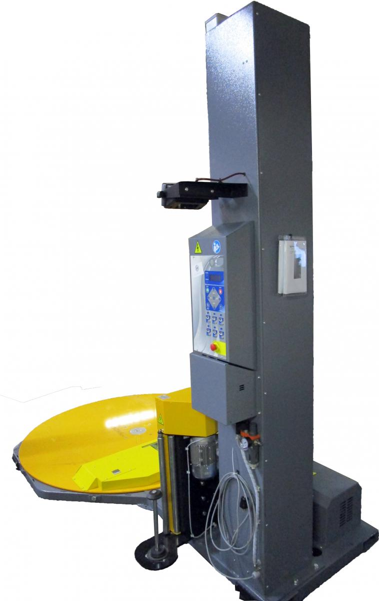 Automatic stretch wrap machine
