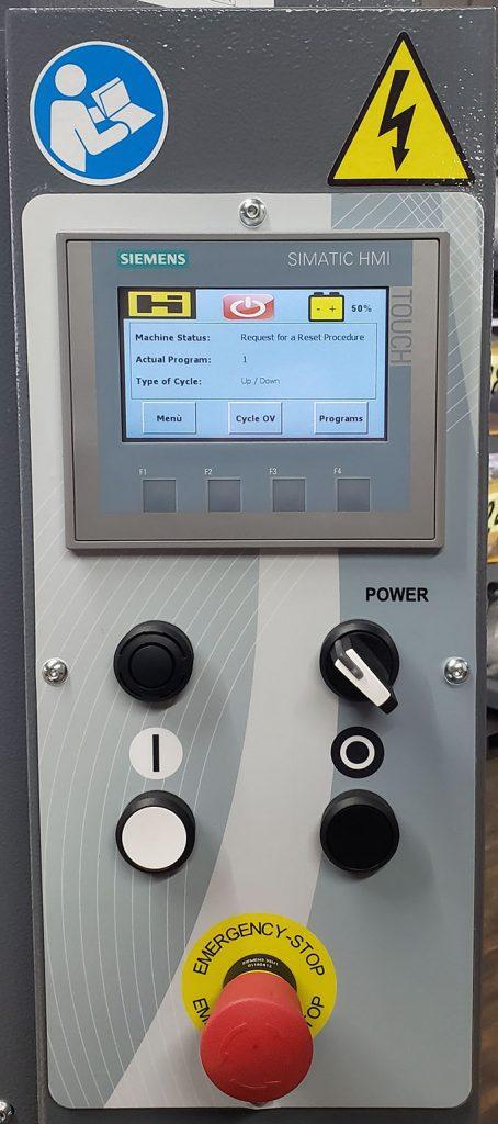 Model 3000 Siemens touchscreen control panel