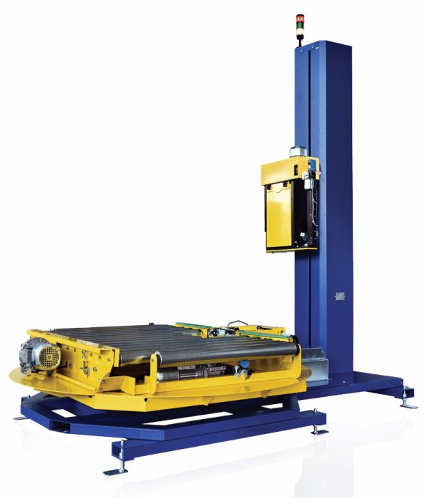 Fully automatic turntable stretch wrapper 40 pallets per hour production