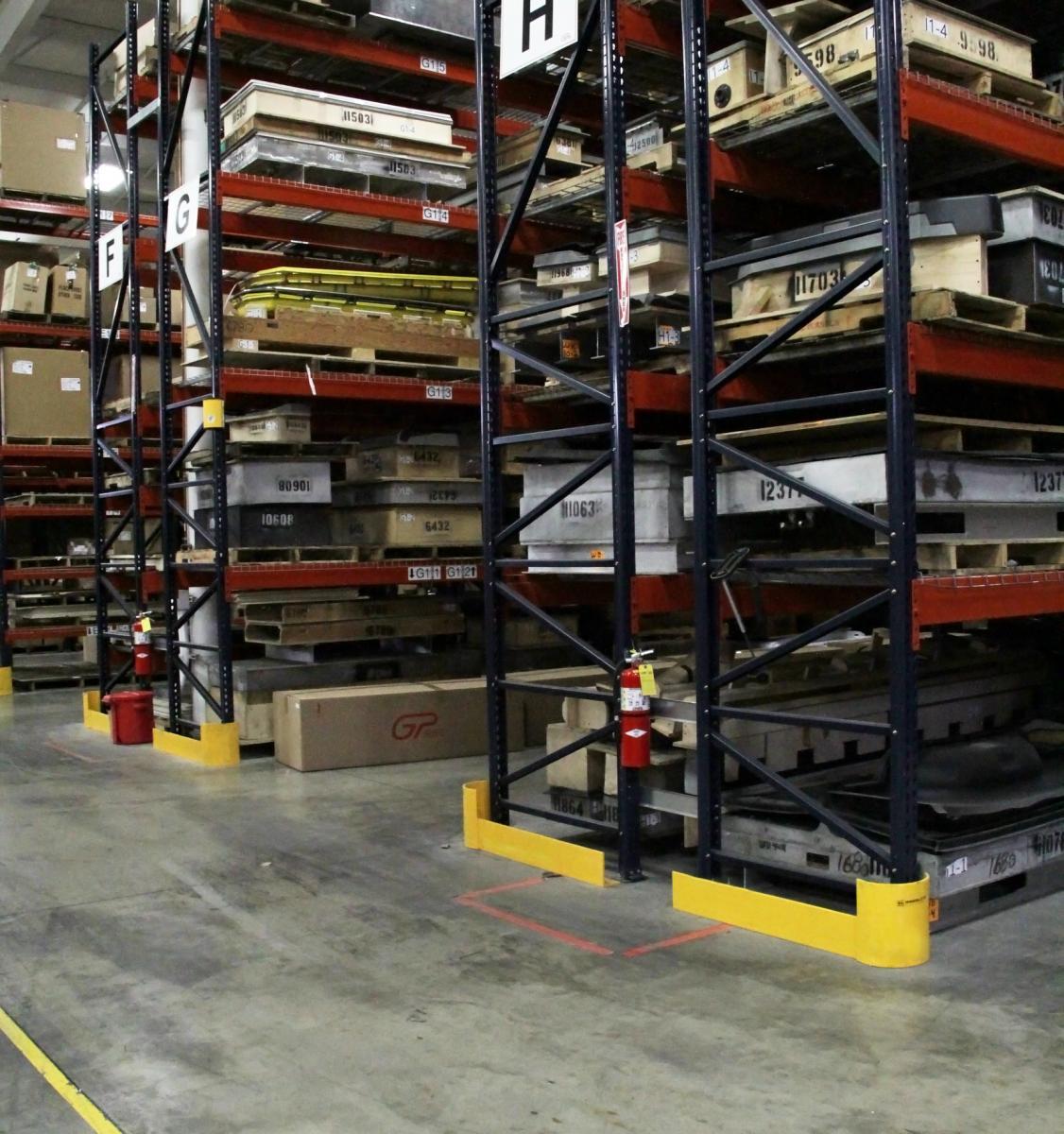 Heavy Duty Warehouse Rack Guards