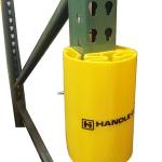 Handle It PEP-9 plastic rack upright guard