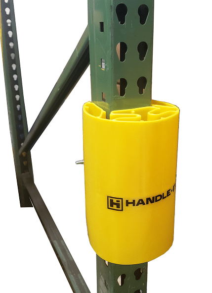 Handle It PEP-9 plastic rack upright guard