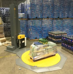 Pallet Wrap Machine for Beverage Industry