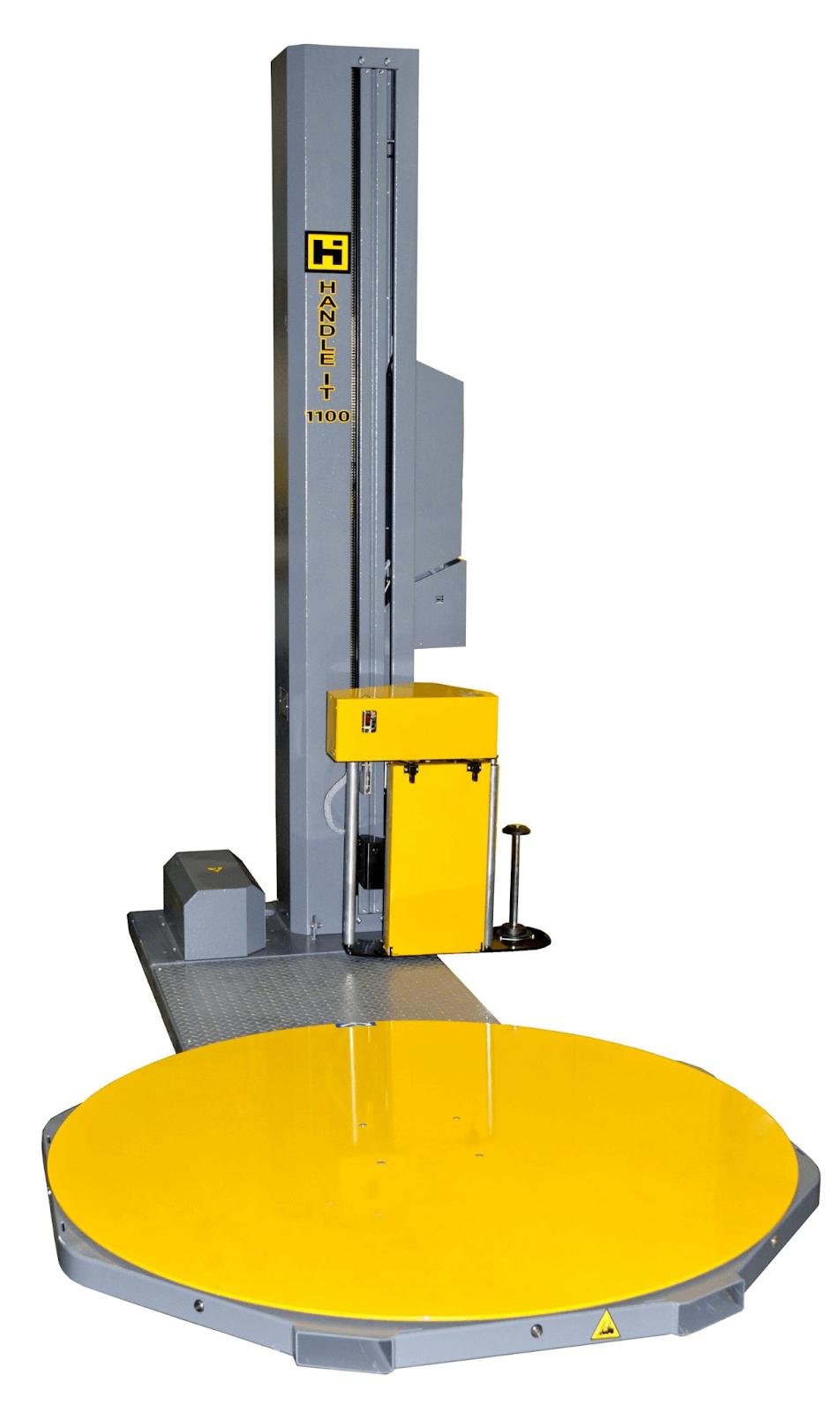 Handle It Model 1100AC semi-automatic stretch wrap machine