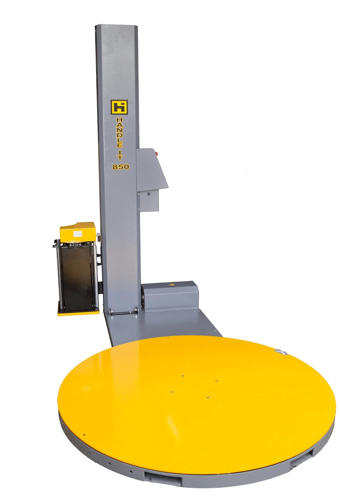 Handle It Model 850PS semi-automatic stretch wrap machine